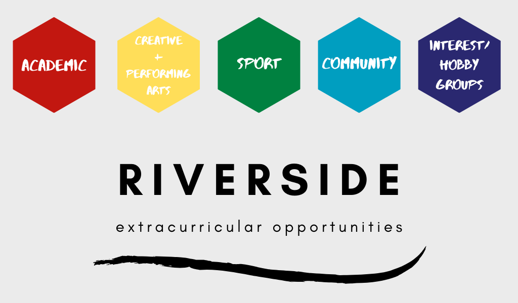 Extra curricular activities on offer at Riverside Girls High School
